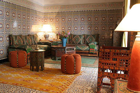 Riad celia marrakech Morocco Toukal Atlas guided walking holiday